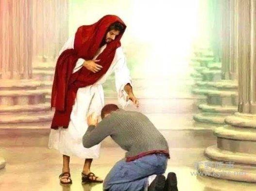 在我们的软弱上看到上帝的完全